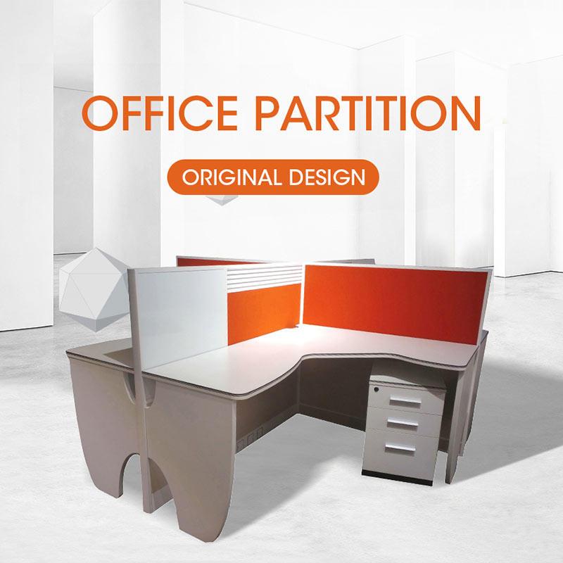 Modern Office Cubicle Partition Workstation for Furniture System JM3060