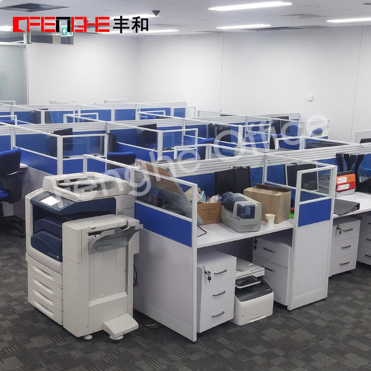 Office partitions and office furniture in Australia Project