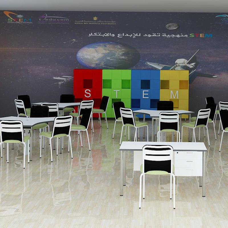 Famous kindergarten's classroom in America Project