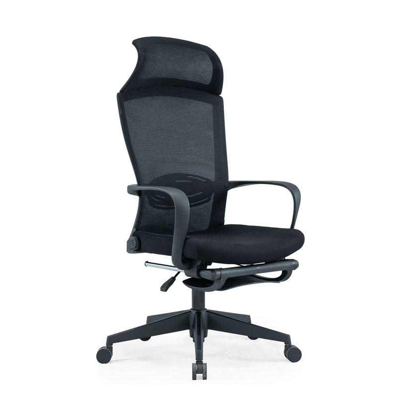 executive mesh chairs with footrest