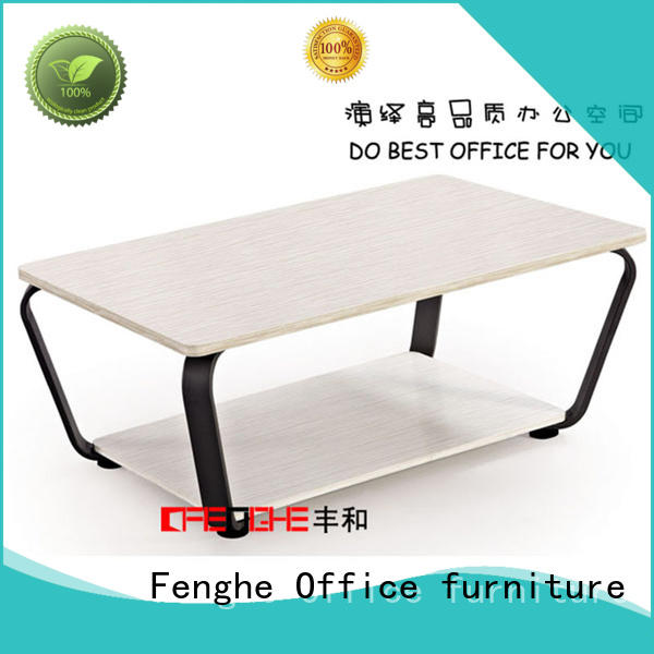 Fenghe mfc low coffee table dropshipping for interview room