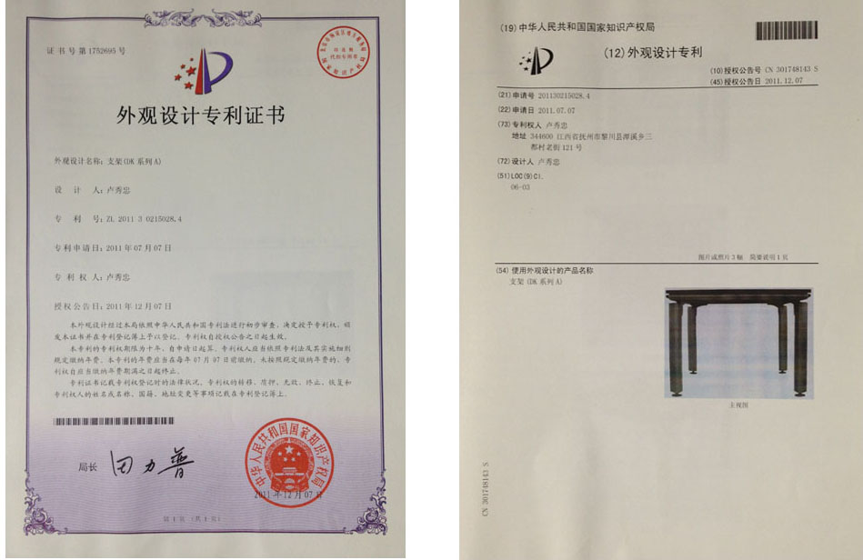 Fenghe-News About Patent Certificate