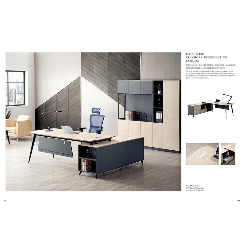 Latest Design Office Furniture High End Office Table Executive Office Furniture KL-101