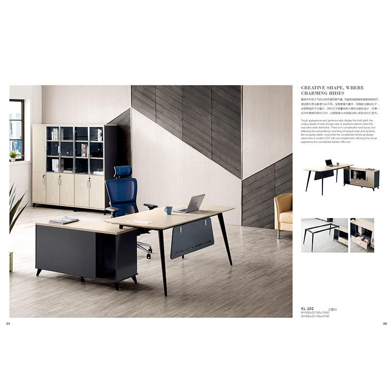 High End Office Table Executive Luxury Office Furniture KL-102