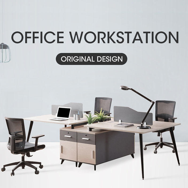 Top Sale Open Office Partition Workstation with Steel Leg SLF-211