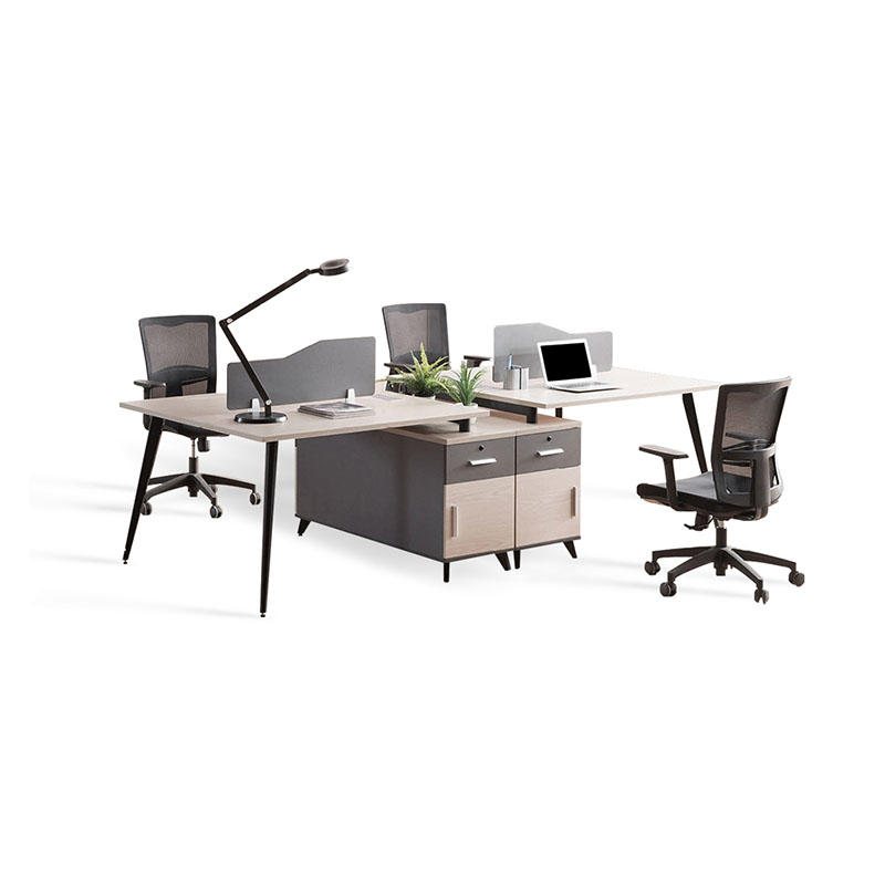 Cluster Staff Operative Table Office Cubicles Partition Workstation SLF-209