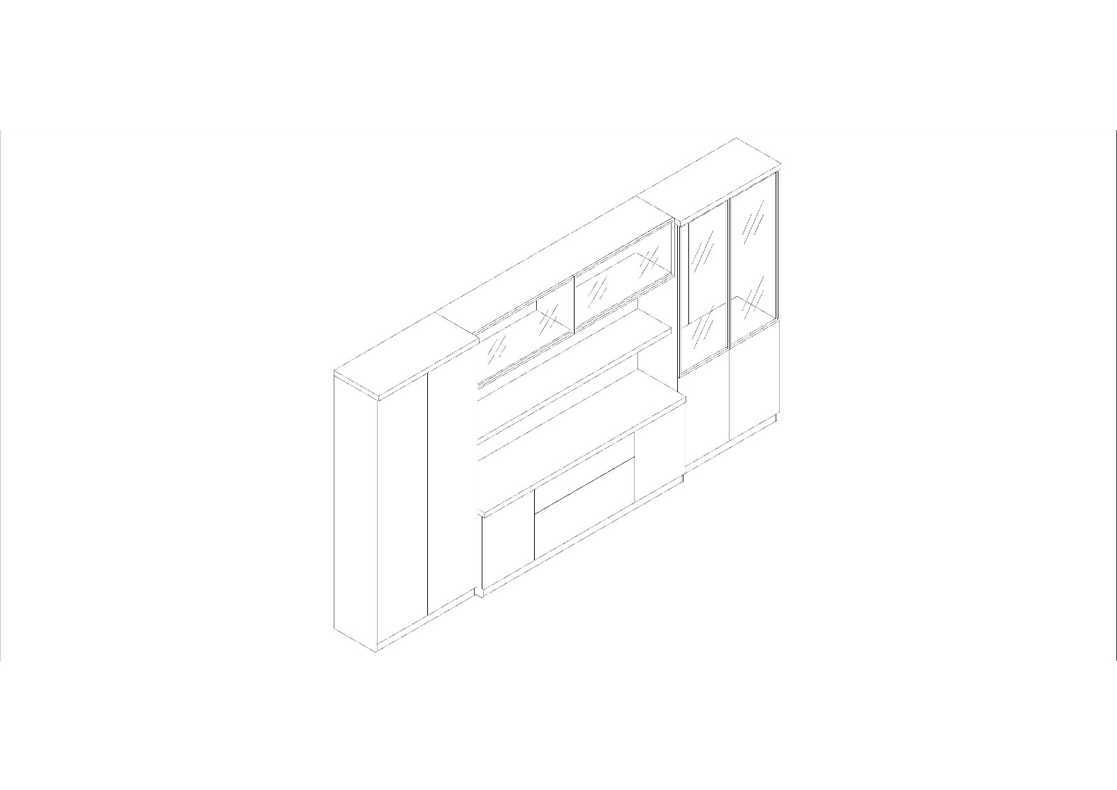 Fenghe-Professional office book cabinet factory in China丨wholesale cabinet