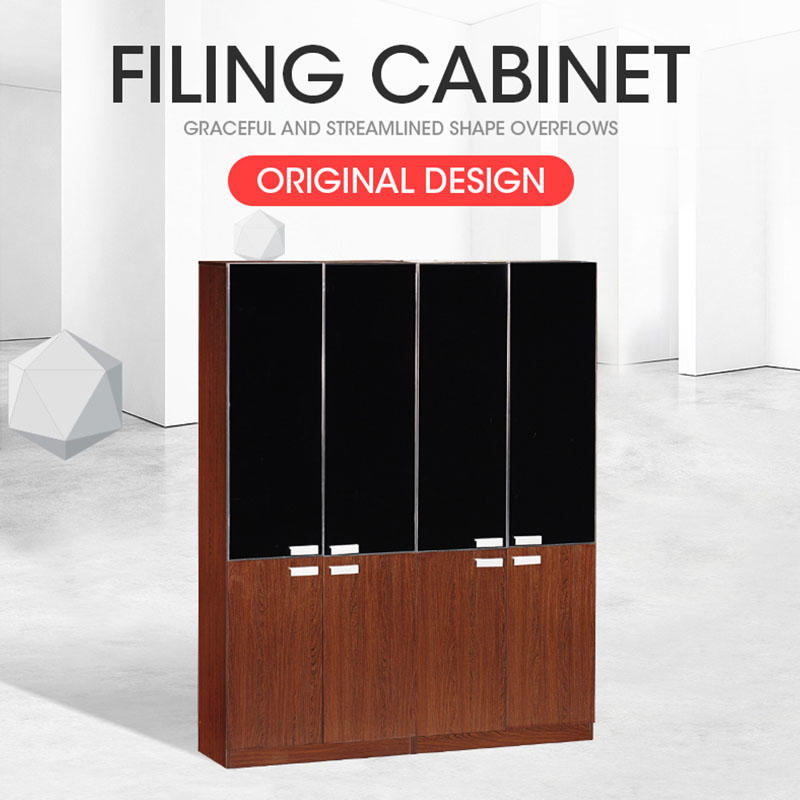 MDF wooden book shelf cabinet/living room furniture bookcases DH-307