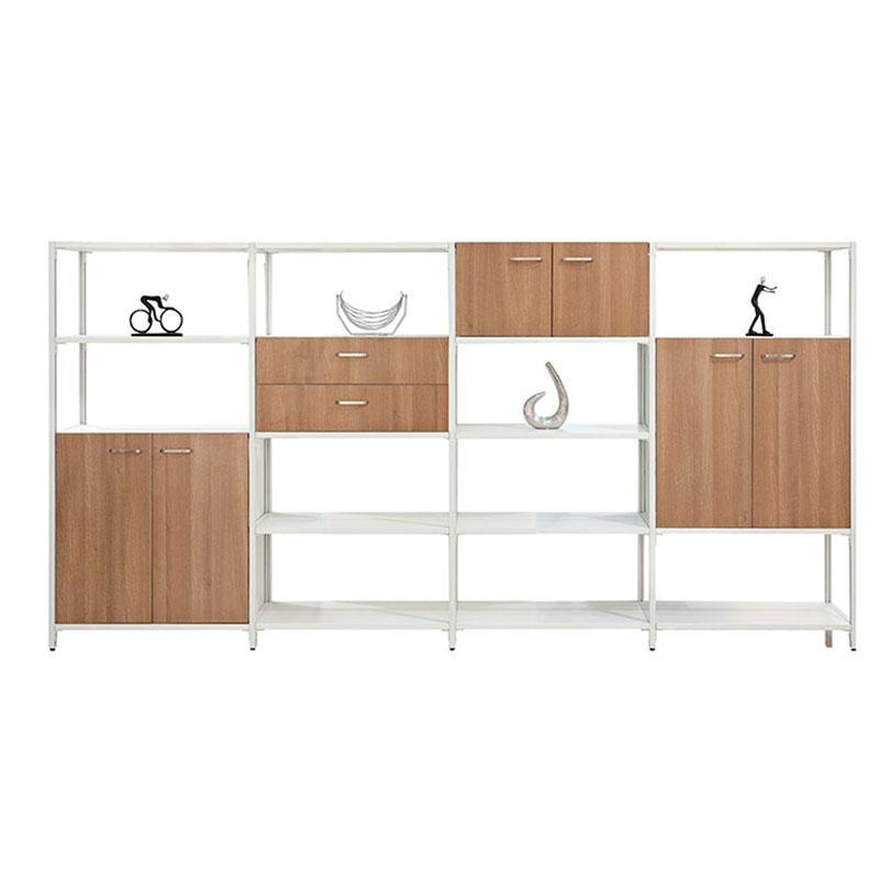 Office Filing Cabinet Design Wooden Sliding Door Storage Cabinet GH3316