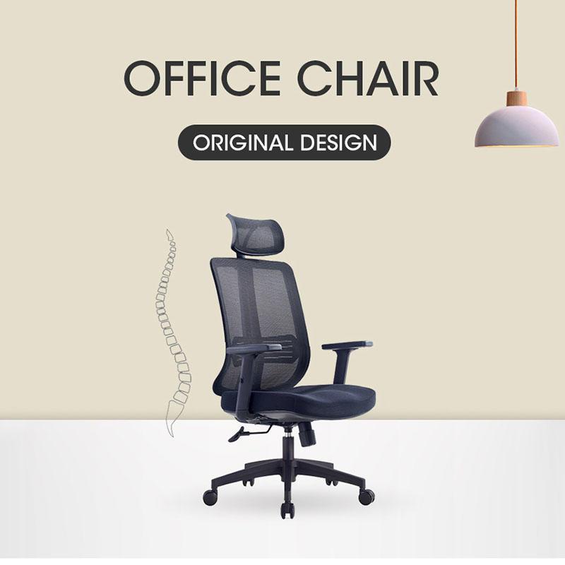 Modern high back swivel mesh computer office chair A-9033