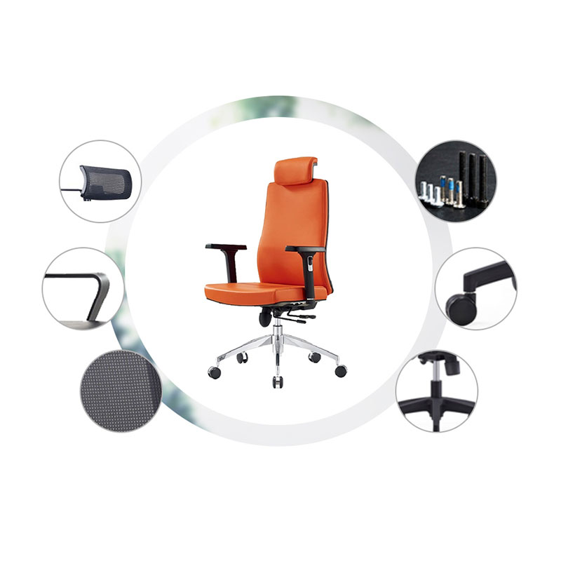 Fenghe-Modern best ergonomic office chair with Leather for Boss offices