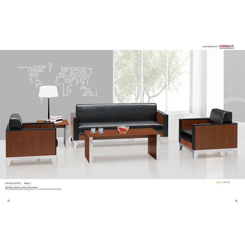 Wholesale Classic Design Wooden Material Office Tea Table DH-403