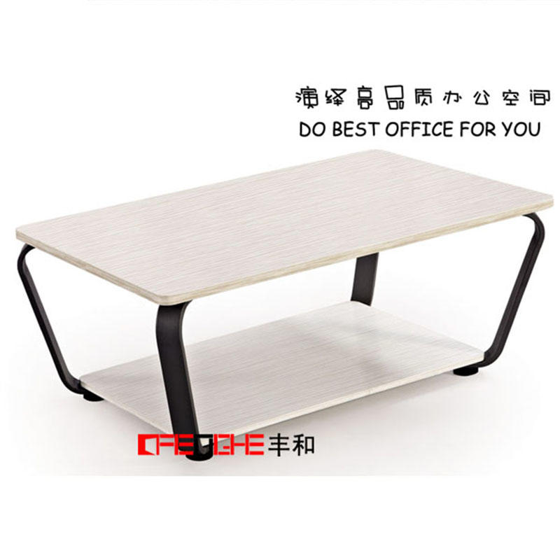 MFC Wood Material White Coffee Tea Table DO-501