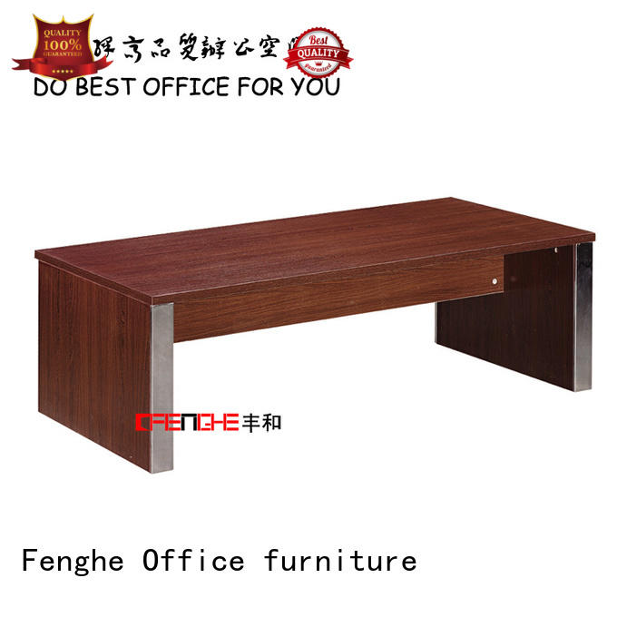 Fenghe dh403 wooden center table for manufacturer for interview room