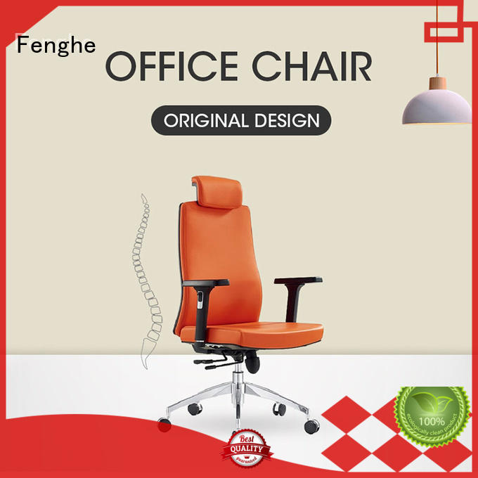 Fenghe headrest ergonomic computer chair manufacturer for ceo office