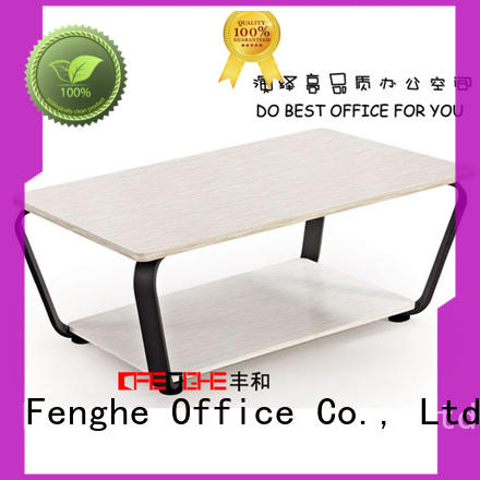 Fenghe outstanding cheap coffee tables bulk production for interview room
