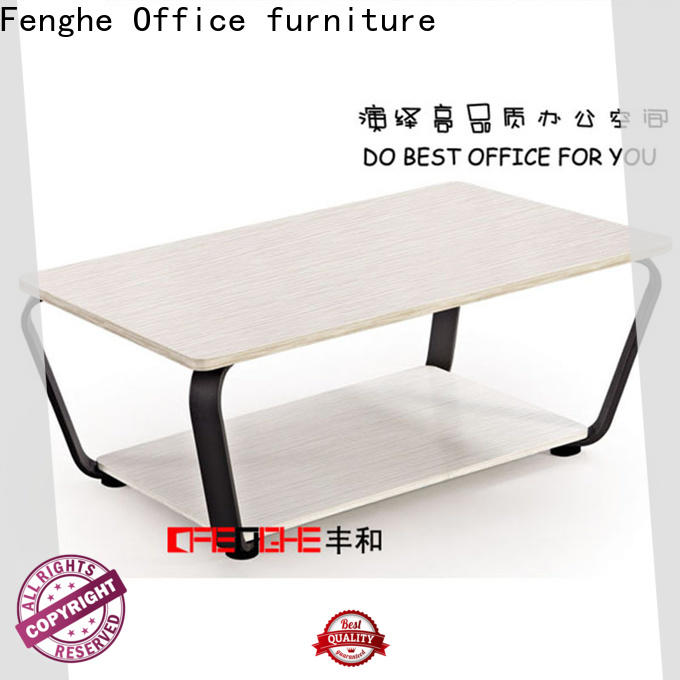 Fenghe high quality low coffee table wholesale for interview room
