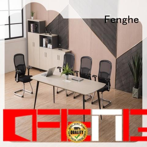 Fenghe modern office table furniture with arms for training area